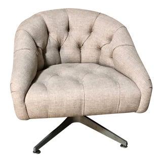 Ward Bennett Swivel Lounge Chair For Sale