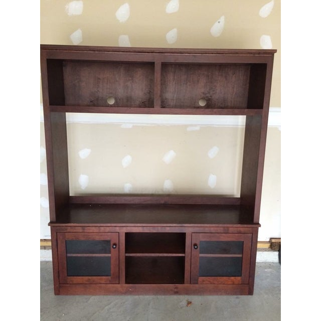 Crate and Barrel Entertainment Center - Image 3 of 4