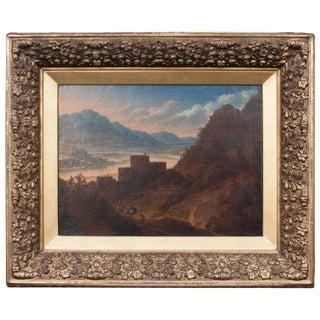 "Oil on Canvas, ""Italian Mountain Landscape,"" Attributed to Jan Asselijn For Sale"
