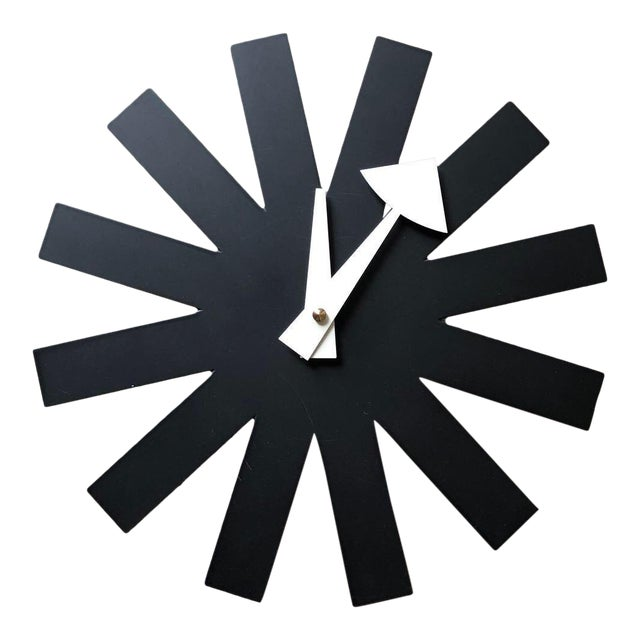George Nelson for Vitra Mid Century Modern Asterisk Clock For Sale