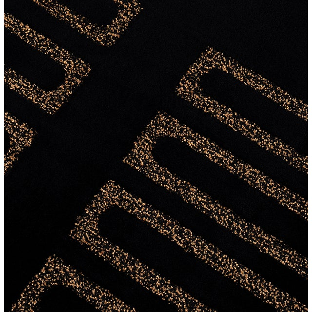 Midnight Classic Rug From Covet Paris For Sale - Image 4 of 5