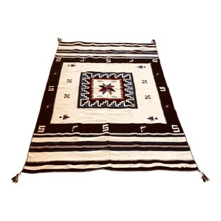 1947 Vintage Mexican Vallero Star Blanket For Sale