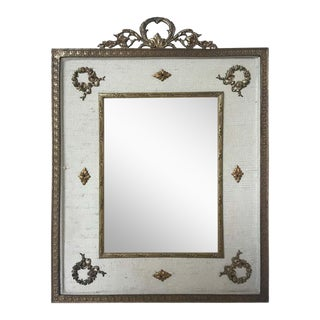 1920s French Brass Ormolu Classical Frame For Sale
