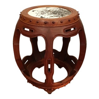 Chinese Rosewood Drum Low Stool
