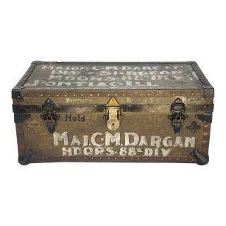 U. S. Army Surgeon's Military Trunk For Sale