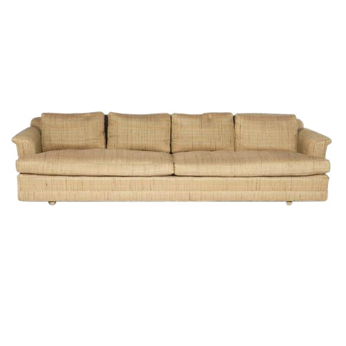 FOUR-SEAT SOFA BY EDWARD WORMLEY FOR DUNBAR For Sale