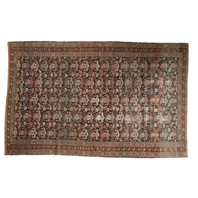 "Antique Fine Malayer Rug - 4'1"" X 6'4"" For Sale - Image 13 of 13"