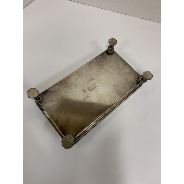 Metal 1960s Ronson Silver-Plated Cigarette Box For Sale - Image 7 of 9