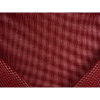 Traditional Kravet Couture Aero Cut Epingle Bordeaux Velvet Upholstery Fabric - 2y For Sale