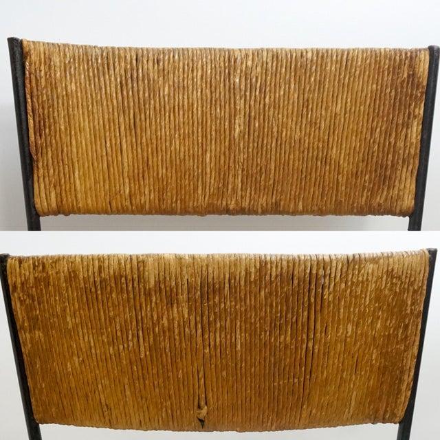 Arthur Umanoff Mid-Century Iron Bar Stools - Set of 5 - Image 9 of 11