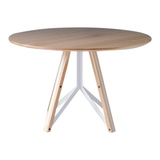 Trestle Dining Table - Birch For Sale