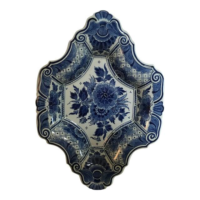 Delft Diamond Shaped Bowl - Image 1 of 6