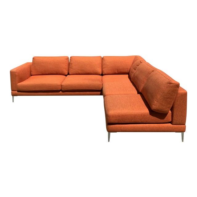 Orange Dellarobia Dania Sectional For Sale