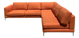 Image of Orange Sofas