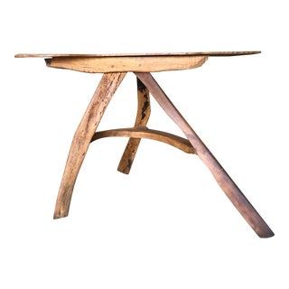 Natural Edge Vintage Table