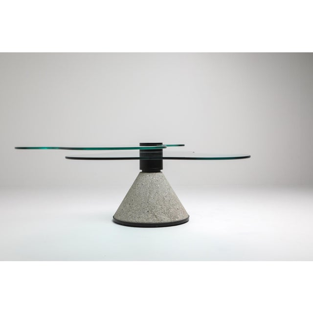 1980s Postmodern Coffee Table in the Manner of Saporiti - 1980s For Sale - Image 5 of 10
