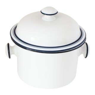 "Dansk Bistro ""Christianshavn Blue"" Covered Casserole Pot For Sale"