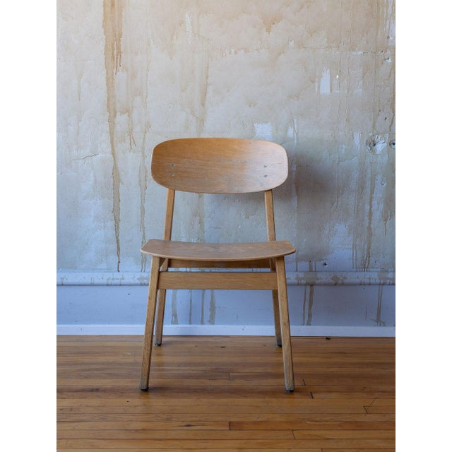 Vintage Italian School Chairs- Set of 8 For Sale In Kansas City - Image 6 of 11