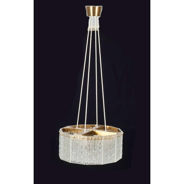 Carl Fagerlund for Orrefors Chandelier - Image 7 of 8