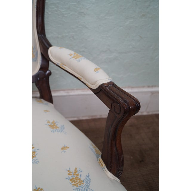 Jeffco J. Peterman Collection French Arm Chair For Sale In Philadelphia - Image 6 of 10