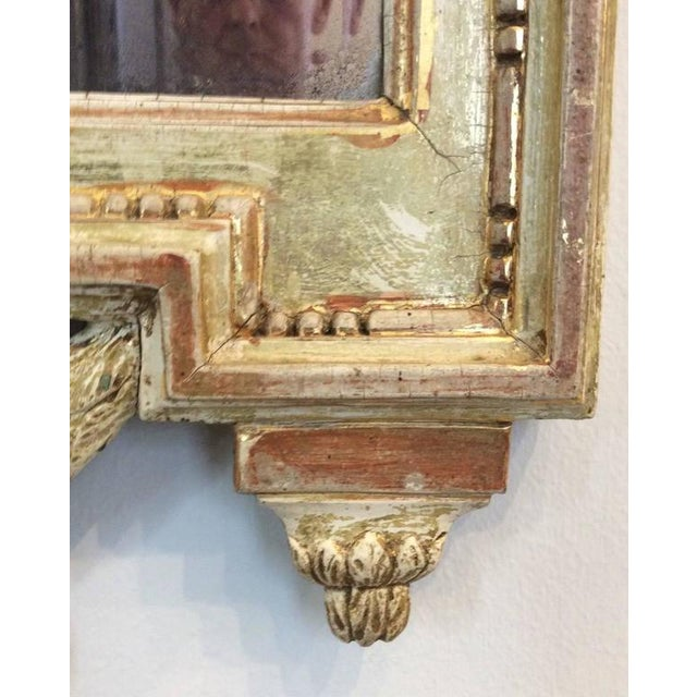 Gustavian (Swedish) 18th Century Swedish Gustavian Mirror by Nicolas Meunier For Sale - Image 3 of 5
