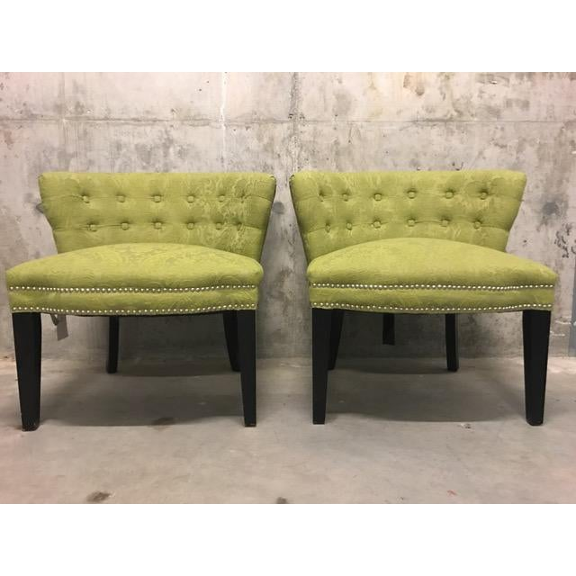 HD Buttercup Slipper Chairs - A Pair - Image 6 of 6
