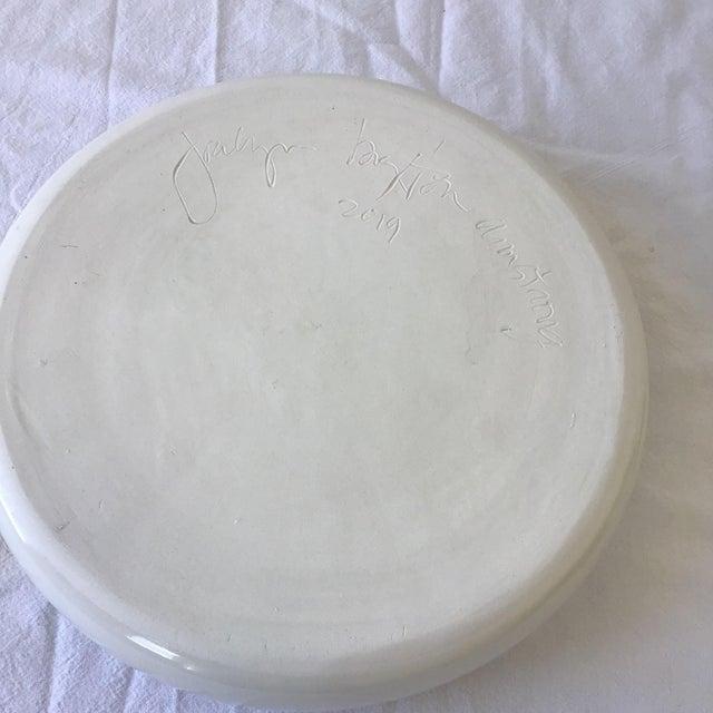 Contemporary Ceramic Utility Bowl For Sale - Image 4 of 5