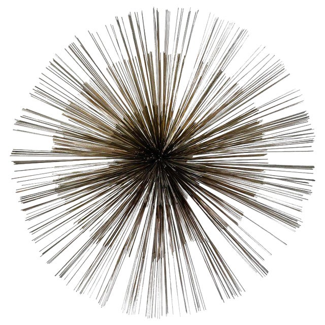 Mid-Century Modern Pom Pom Wall Sculpture by Curtis Jere For Sale
