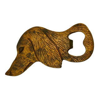 1960s Retriever Dog Bottle Opener For Sale