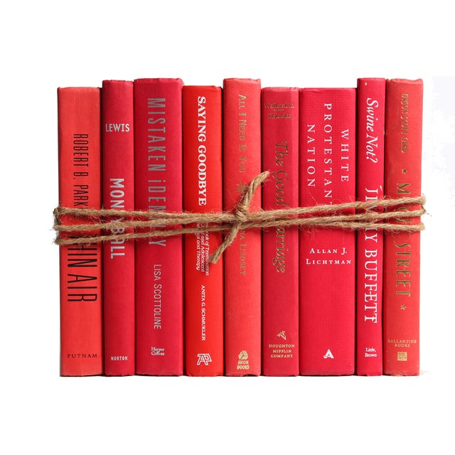 Modern Red ColorPak Of Books - Image 2 of 3