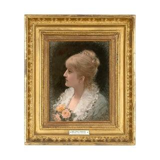 Portrait of a Young Woman by Emile Eisman-semenowsky