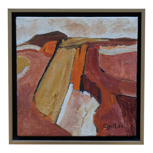 "Laurie MacMillan ""Scenic Route"" Abstract Landscape For Sale"