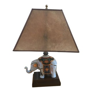 Elephant Lamp With Shade