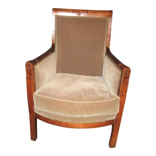 18th Century French Directoire Bergere For Sale