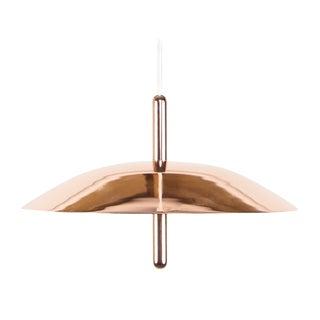 Modern Copper Signal Pendant For Sale