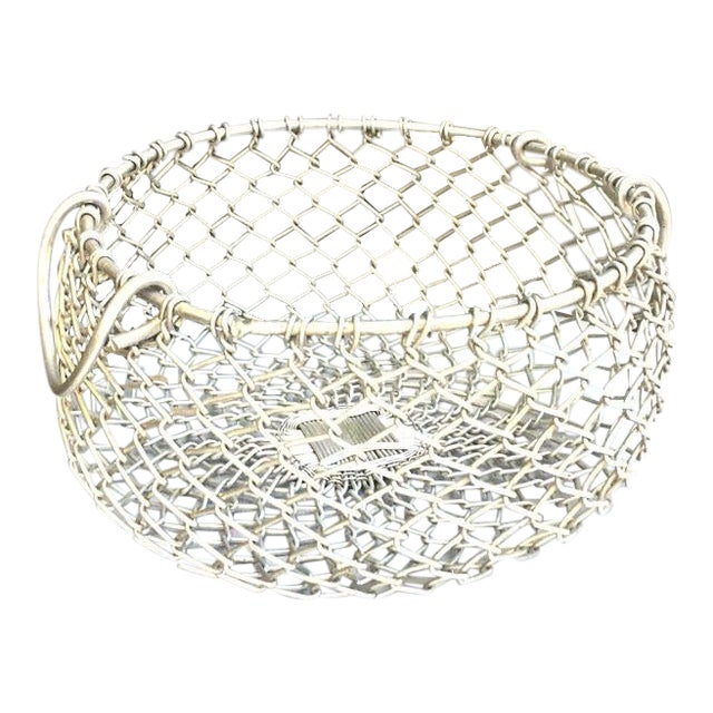 Silver Chain Hanging Plant Basket For Sale