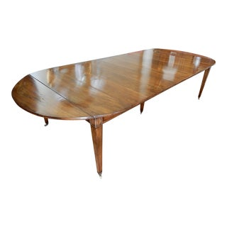 Louis XVI Directoire' Extension Dining Table For Sale