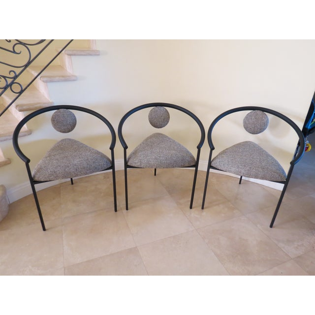 New Completely Restored Memphis Style Chairs - S/3 - Image 9 of 10