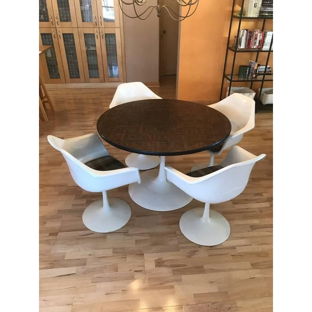 1970s Mid-Century Modern Tulip Table & Chair Set - 5 Pieces For Sale - Image 6 of 6