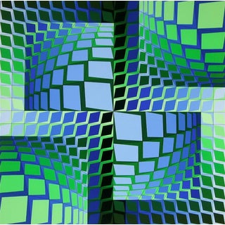 Victor Vasarely THEZ 1982 For Sale