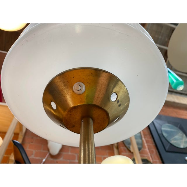 1970s Gaetano Sciolari Mid-Century Modern Italian Table Lamp For Sale - Image 9 of 10