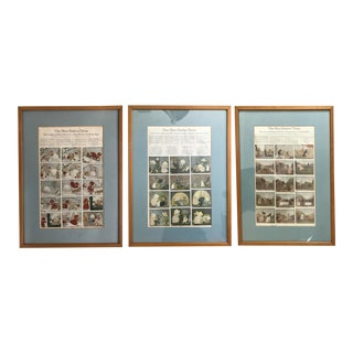 Blue Button Twins Comic Strip Framed Prints