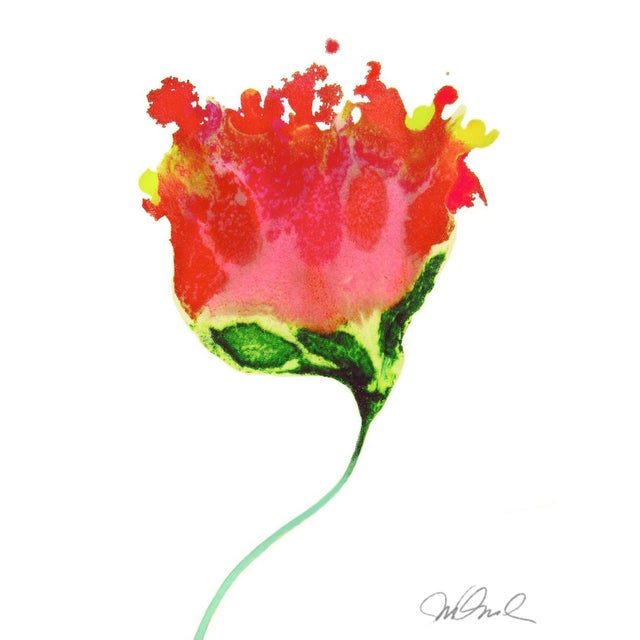 Abstract Botanical No. 5, Giclee Print. For Sale