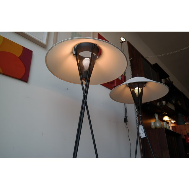 Gerald Thurston Tripod Floor Lamps - Pair - Image 6 of 6