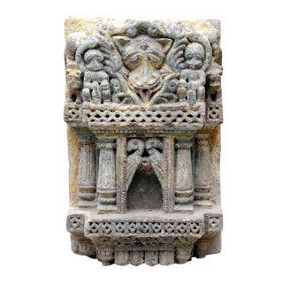 Antique Rajashtani Stone Carved Niche