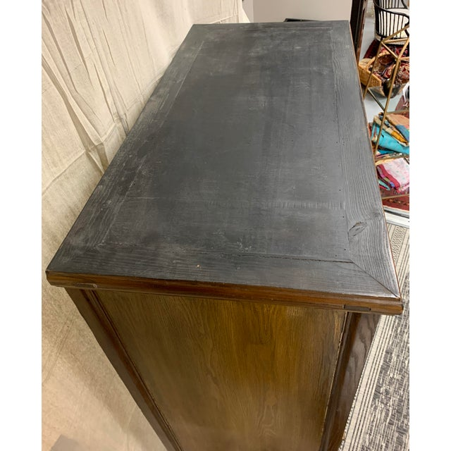 Asian Style Wooden Cabinet For Sale - Image 4 of 12