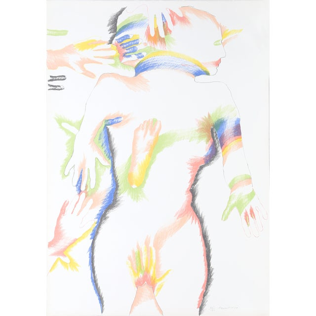 Marisol Escobar, Rainbow People, Lithograph For Sale