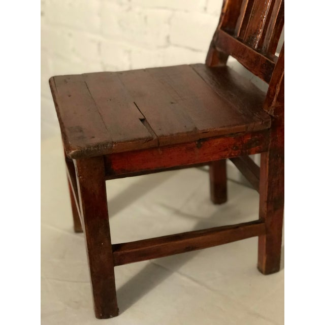 1910s 20th Century Qing Style Child's Chair For Sale - Image 5 of 10