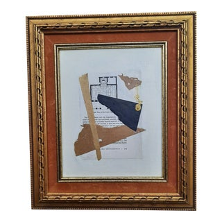 Beth Downey Architectural Collage For Sale