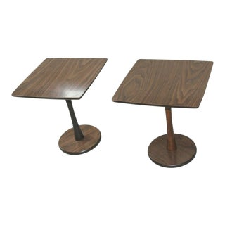 Mid Century Modern Atomic Tulip Side End Tables - a Pair For Sale
